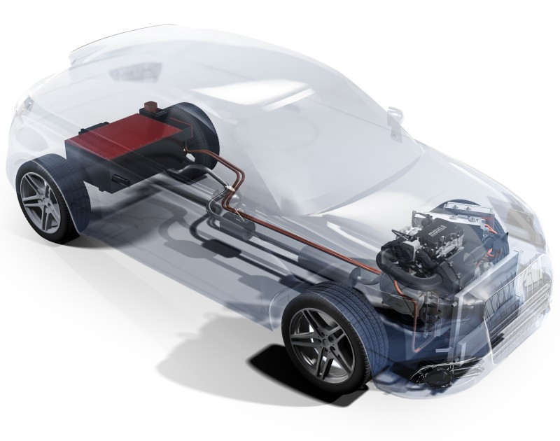 MAHLE Powertrain Glass Range Extender Demonstrator Vehicle